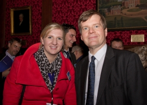 Rebecca Adlington at the House of CommonsRAPs celebration